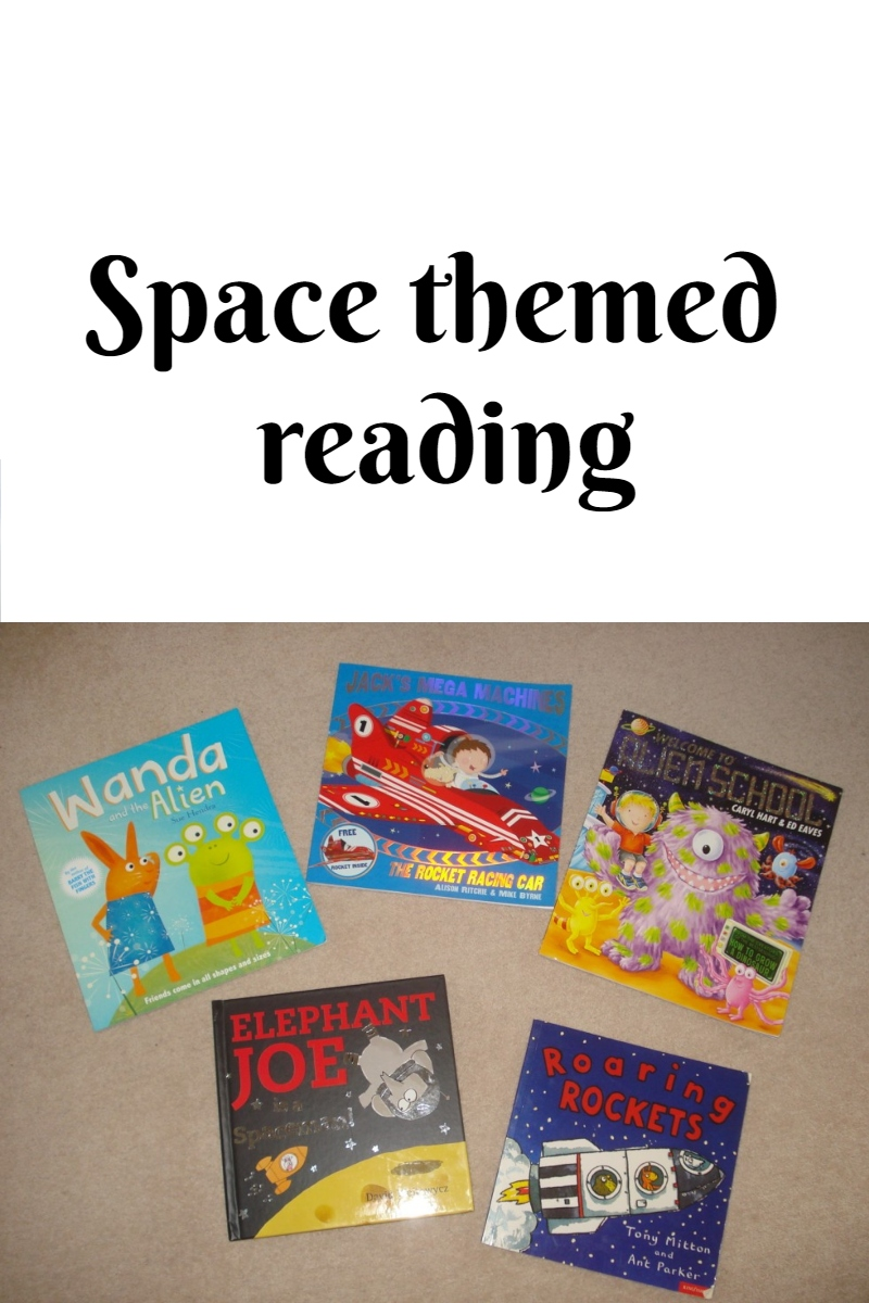 Space themed reading