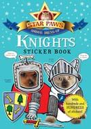 Star Paws, Knights Sticker book, Star Paws Sticker Books