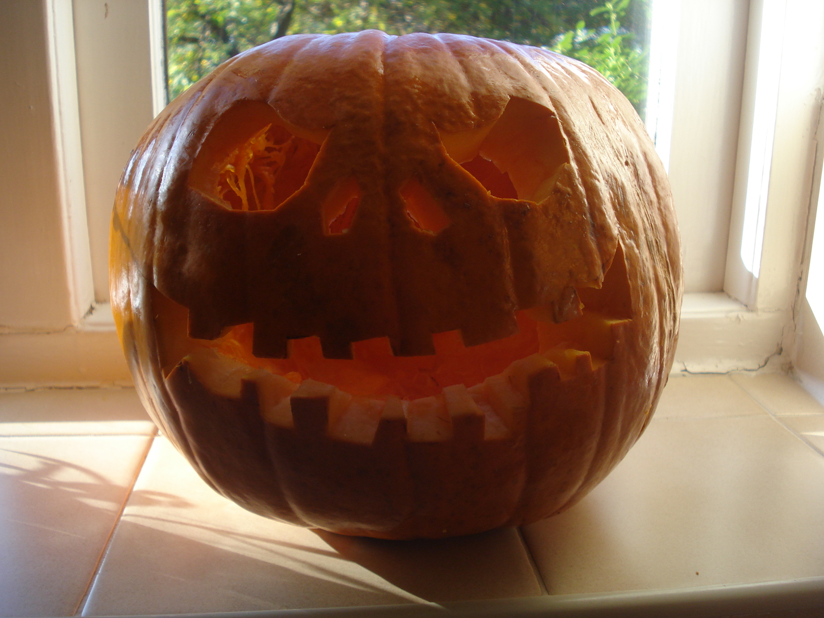 Get Mummy to carve it