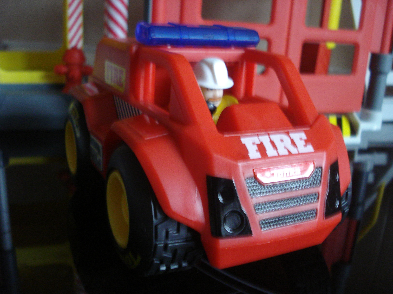 Tonka Town Fire Station Play Set