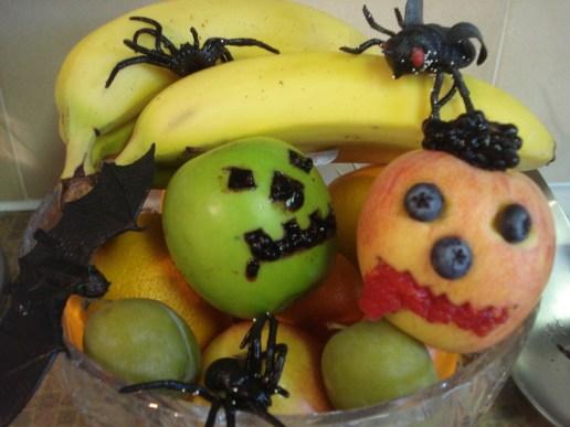 Spooky Fruit Halloween