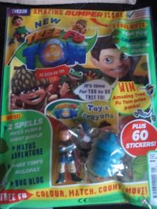 Tree Fu Tom magazine