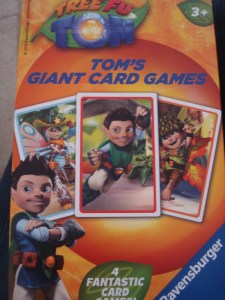 Tree Fu Tom, Tom's Giant Card Games