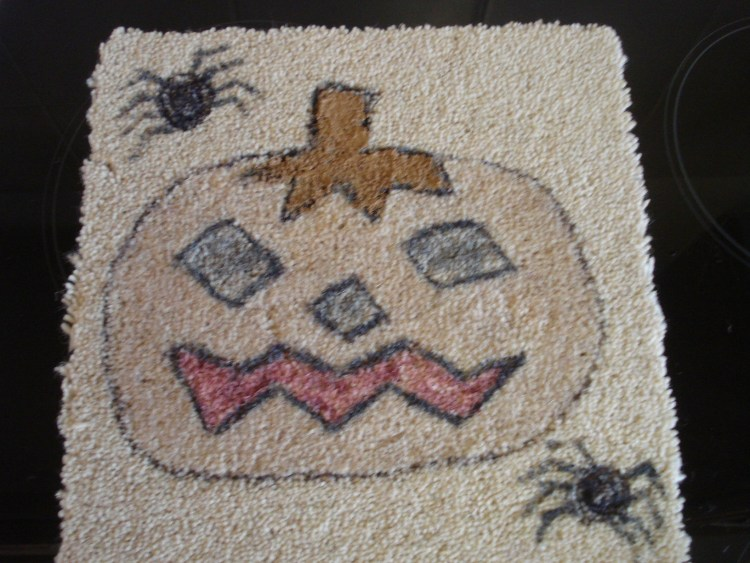 #carpetart, Making a mess on the carpet
