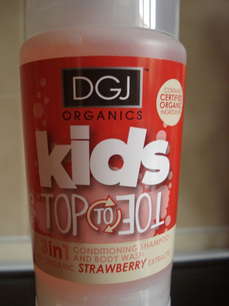 making bathtime easier, DGJ Organics