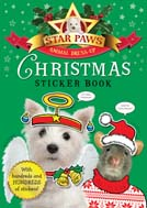 Star Paws Christmas Sticker book