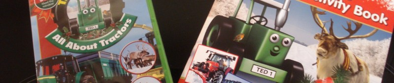 Tractor Ted, All About Tractors DVD, Christmas Activity Book