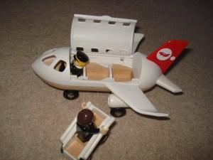 Sat Cap - All aboard, Brio Monorail Airport Set