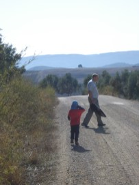 Running after Gramps