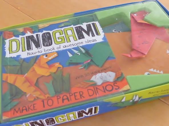Blog Birthday Giveaway - Dinogami