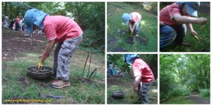 Mud pies and planting twigs