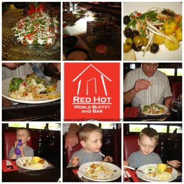 Red Hot World Buffet Starters