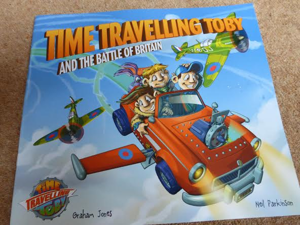 Blog Birthday Giveaway - Time Travelling Toby
