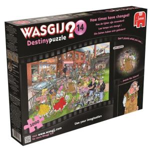 Wasgij Giveaway for National Puzzle Day