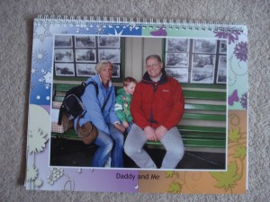 Calendar for Daddy P