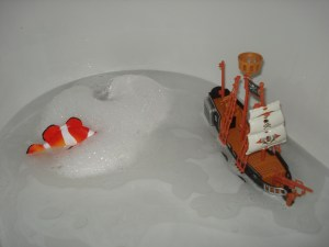 Bathtime fun with H&A