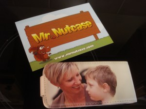 Smart case for my smartphone with Mr Nutcase