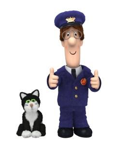 Monkey met Postman Pat