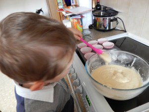 Baking with Cake Angels