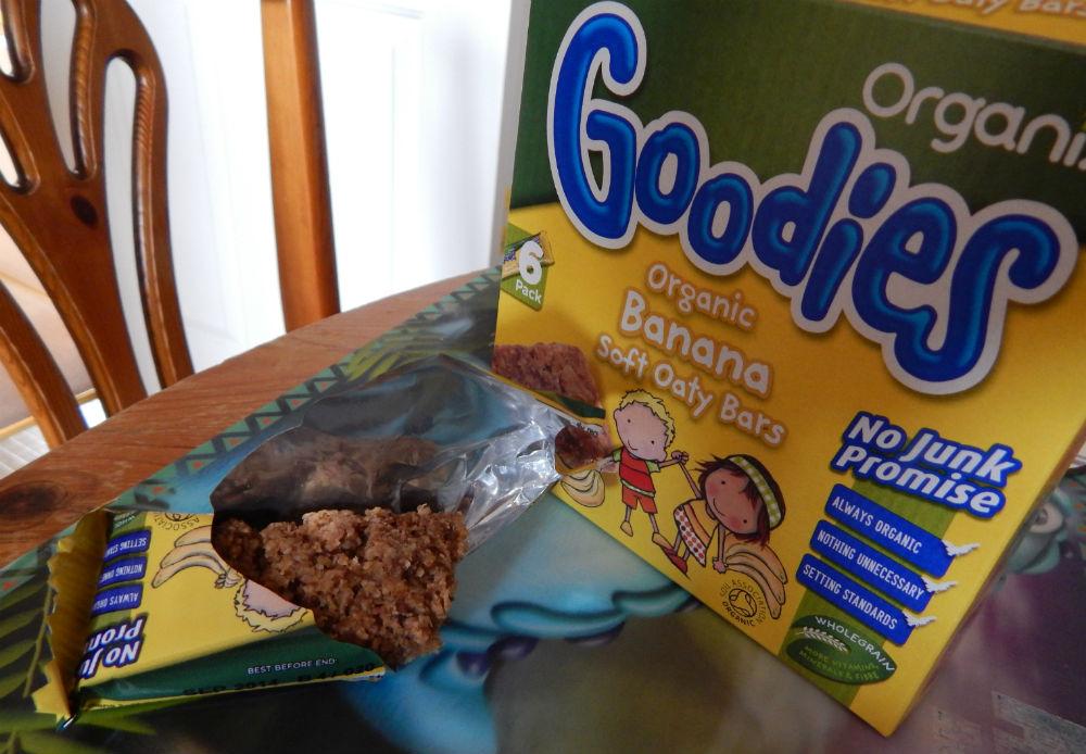 Organix Goodies Banana Soft Oaty Bars