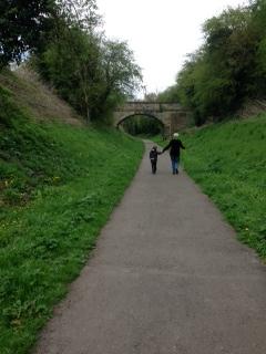 A walk along an old railway line