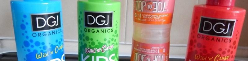 DGJ Organics Wild n Crazy range