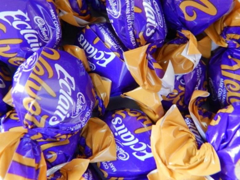 Cadbury Eclairs Velvets