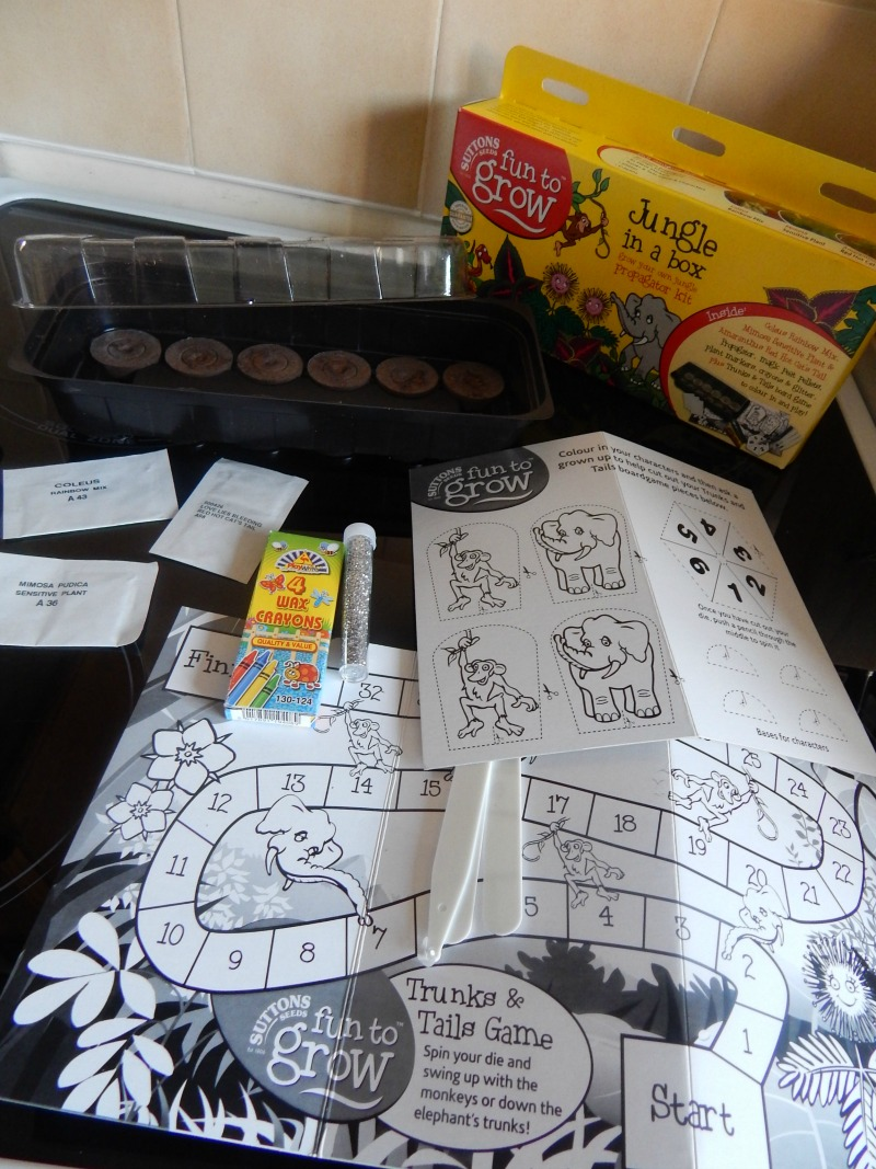 Monkey gets planting with Sutton Seeds
