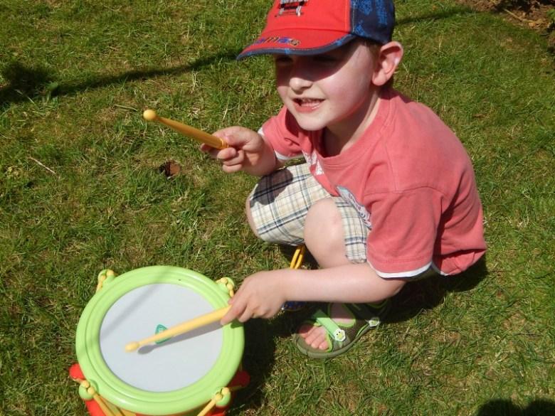 Banging the drum