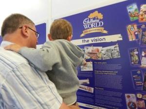 Fathers Day at Cadbury World