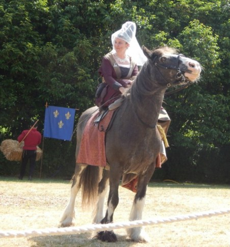 Jousting at Arundel Castle