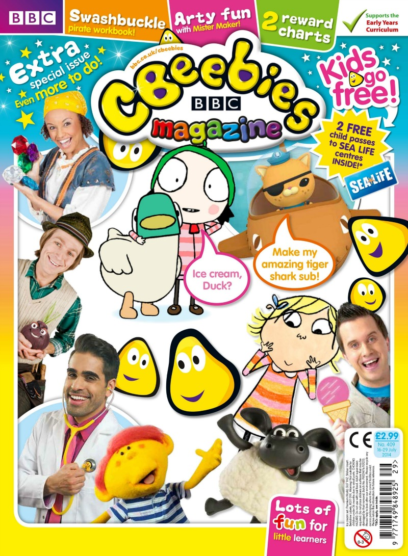 CBeebies Magazine launches Kids go Free Campaign