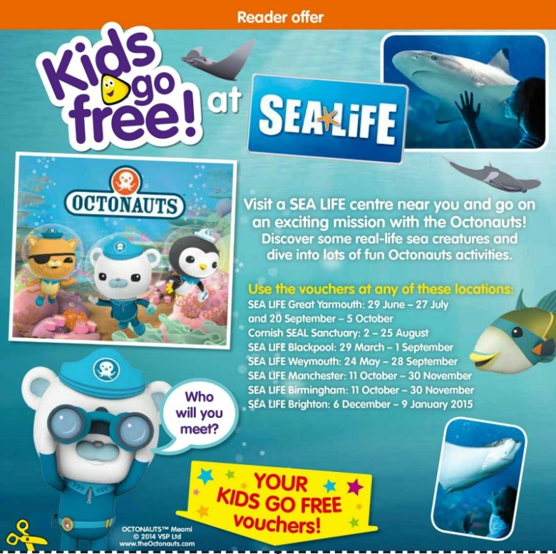 CBeebies Magazine Kids go Free Campaign