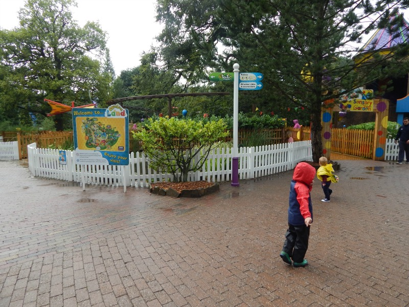 Having fun at CBeebies Land