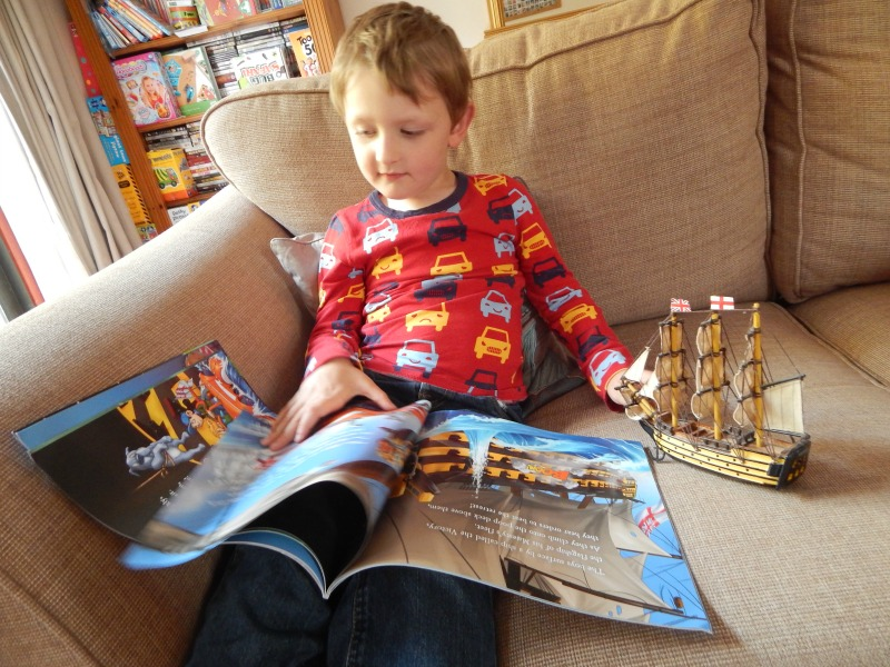 Time Travelling Toby and the Battle of Trafalgar