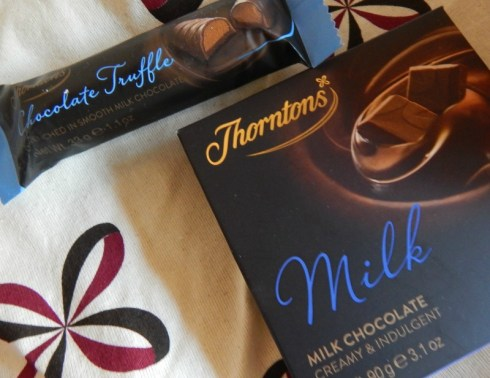 Celebrating with Thorntons Chocolates