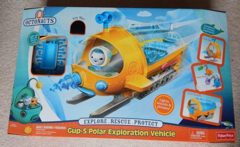 Octonauts Gup-S Polar Exploration Vehicle