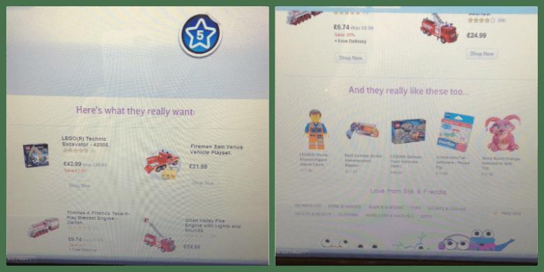 Argos My Christmas Wishlist App