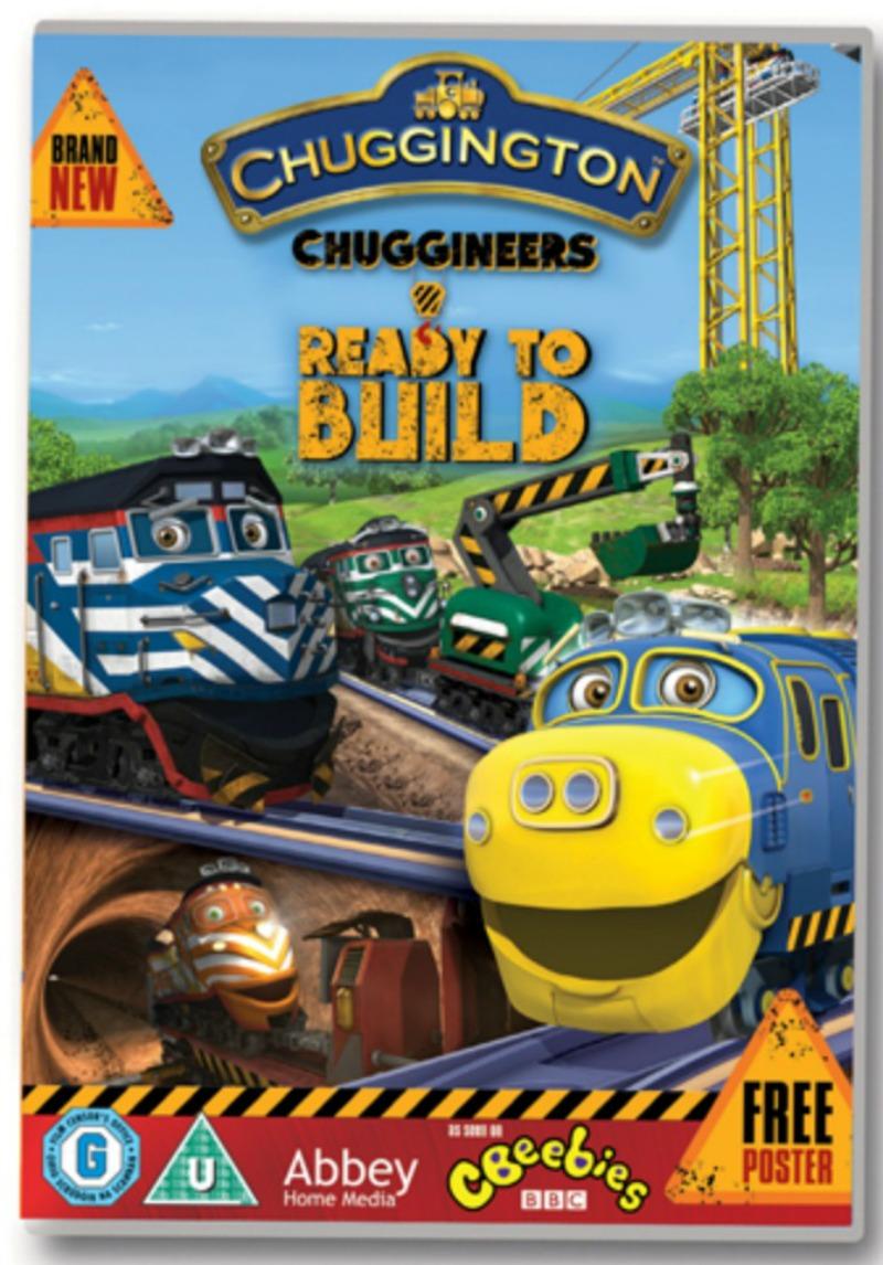 Chuggineers Ready to Build DVD