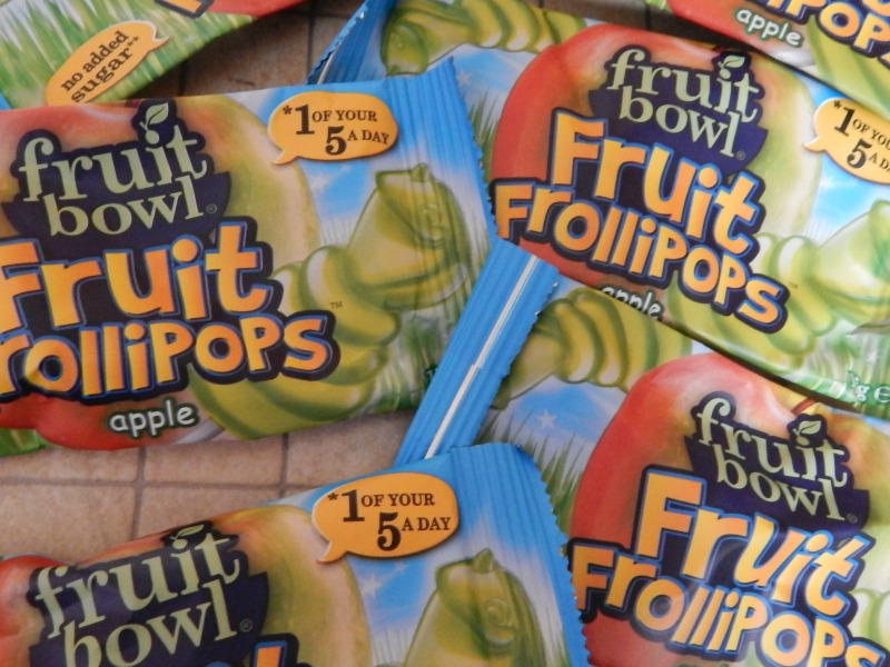 Fruit Bowl Fruit Frollipops