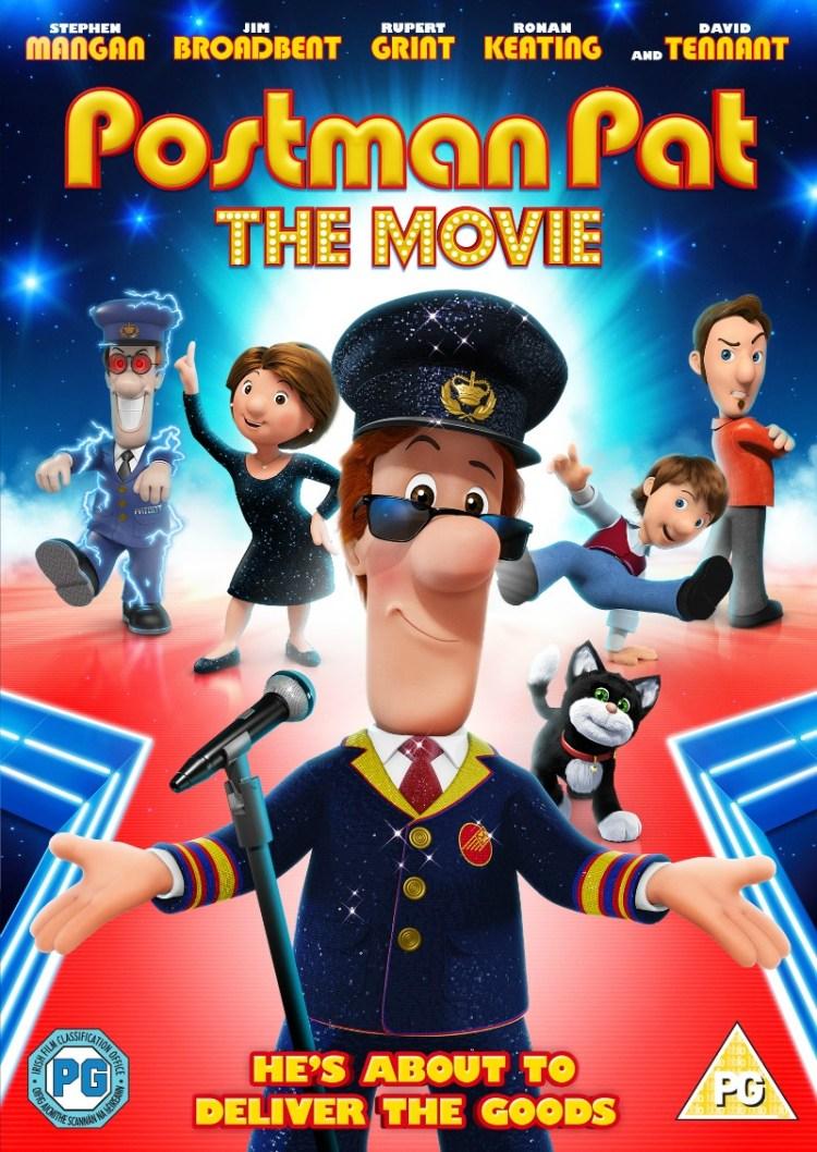 Postman Pat the Movie DVD