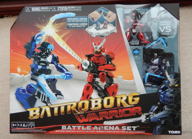 Battroborg Warrior Battle Arena Set