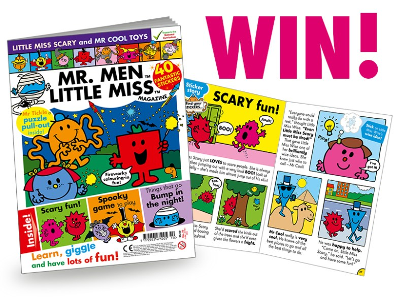 Mr Men and Little Miss Magazine