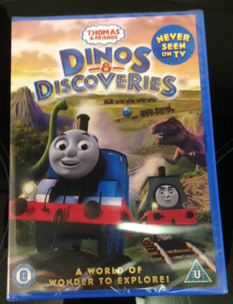 Thomas & Friends: Dinos & Discoveries DVD