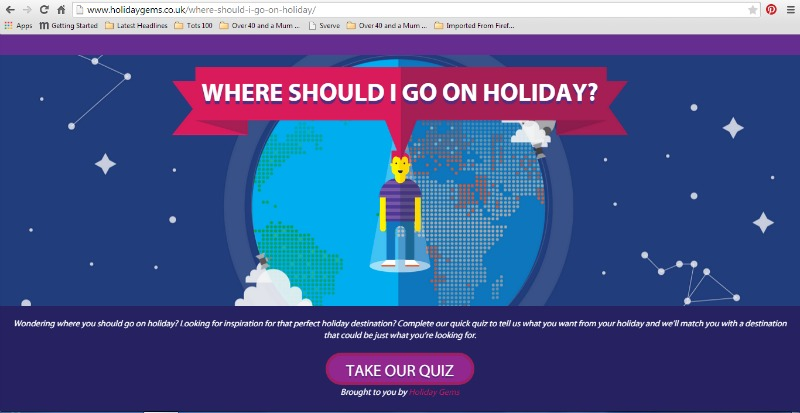 Finding your ideal holiday location