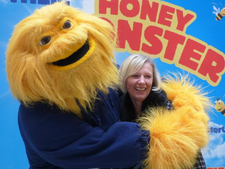 Monkey meets the Honey Monster