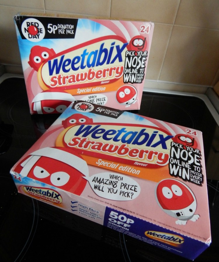 Supporting Red Nose Day with Weetabix Strawberry