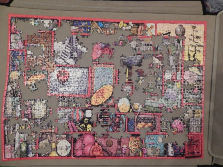 The Red Box 1000 Piece Puzzle