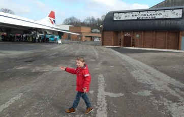 A day of adventures at Brooklands Museum