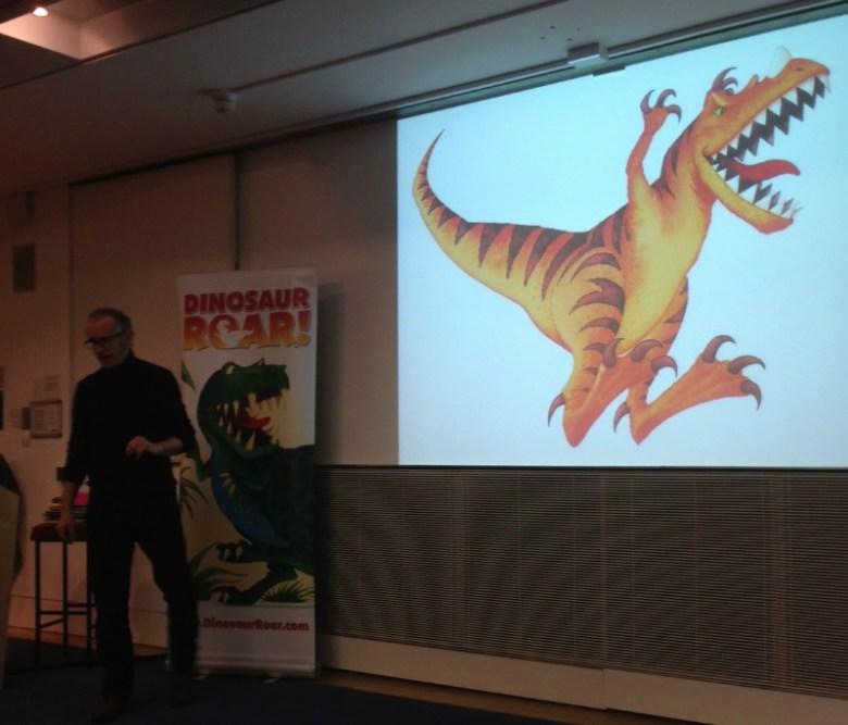 Dinosaur Roar at the Oxford Literary Festival
